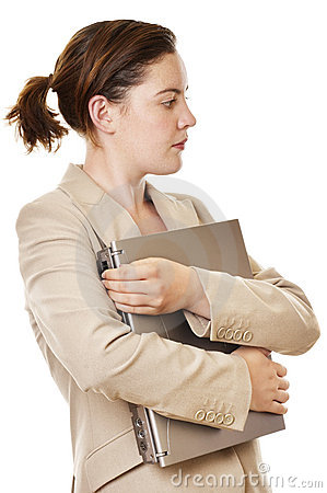 Free Businesswoman Laptop II Royalty Free Stock Photography - 407017