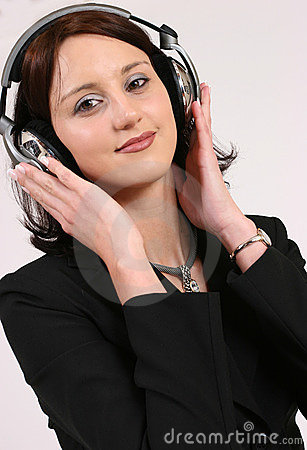Free Businesswoman Listening To Her Favorite Music Stock Photo - 293140
