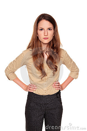 Businesswoman - neutral expression