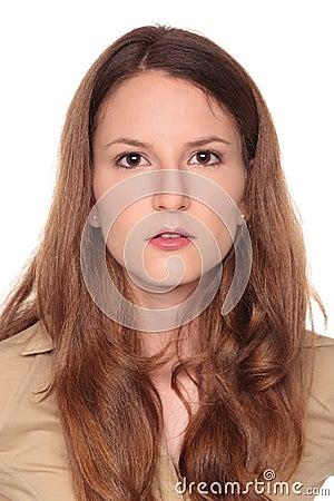 Businesswoman - neutral expression