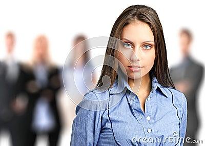 Businesswoman portrait