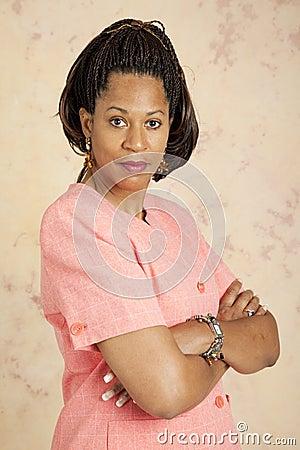 Businesswoman - Serious Attitude