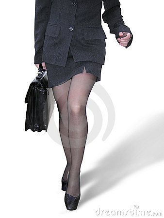 Free Businesswoman Walking Royalty Free Stock Image - 2996
