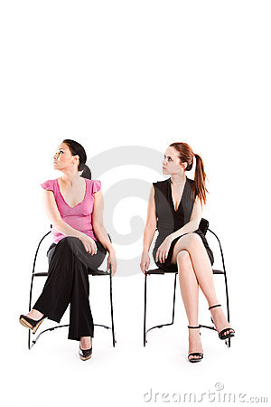 Businesswomen conceptual