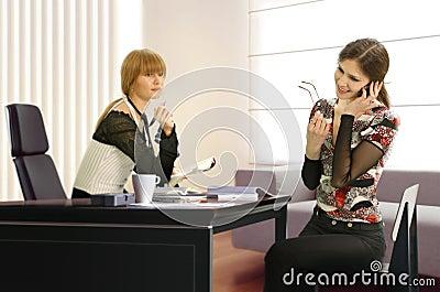 Businesswomen in the office