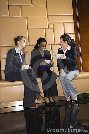 Free Businesswomen With Coffee. Stock Photography - 4412572
