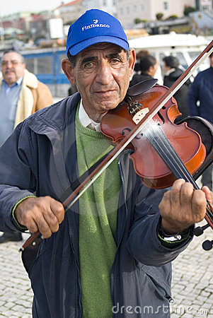 Free Busker Stock Photography - 17338392