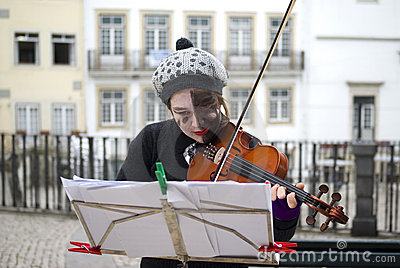 Busker Editorial Photography