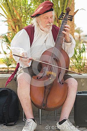 Free Busker Stock Photo - 43227690