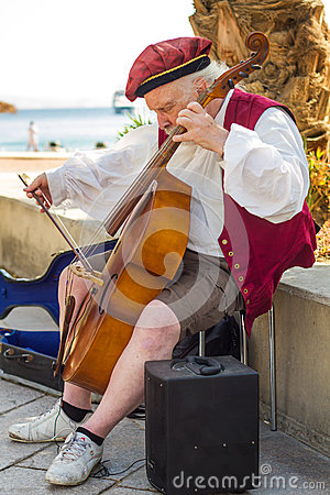 Free Busker Stock Image - 43227751