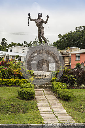 Free Bussa Emancipation Statue In Barbados Royalty Free Stock Images - 44659419