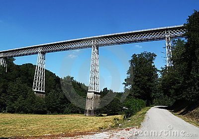 Busseau Viaduct Creuse France