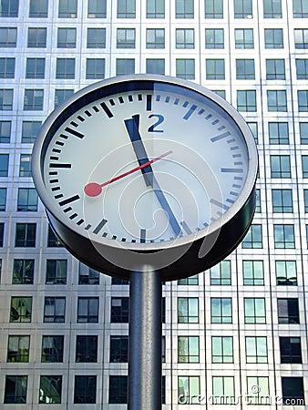 Bussines clock