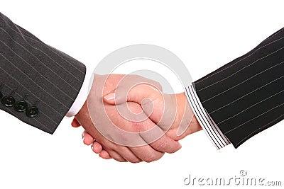 Bussines handshake