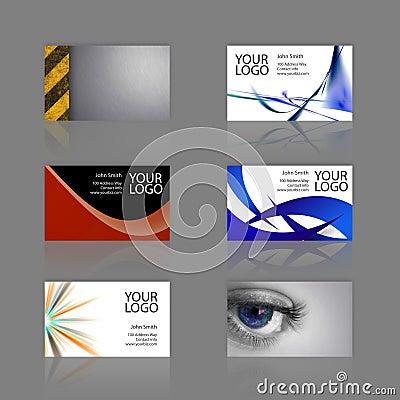 Bussiness Card Assortment