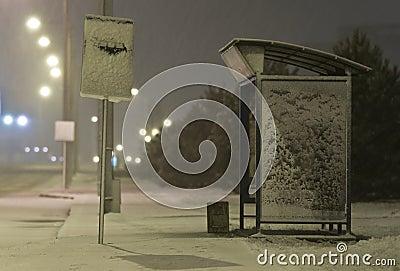 Bussstation