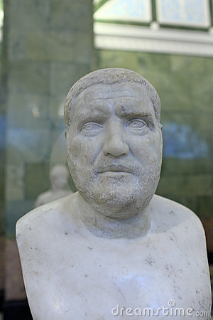 Bust of the emperor Balbinus