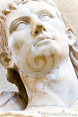 Bust of a Greek emperor