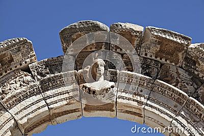 Bust of Hadrian s Arch, Ephesus