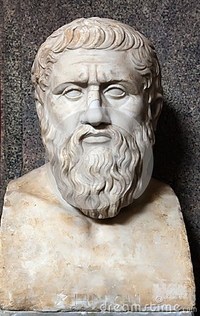 Free Bust Of Plato Stock Images - 26438074