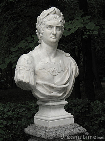 Free Bust Of Roman Emperor Nero Royalty Free Stock Images - 6556779