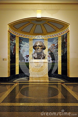 Bust of President George Washington