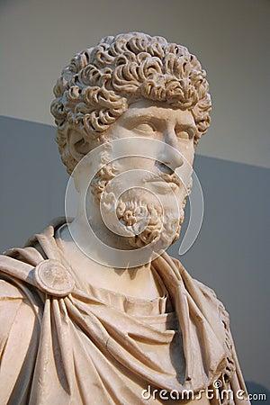 Bust of Roman Emperor