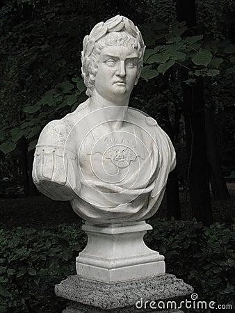 Bust of Roman emperor Nero