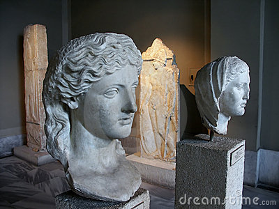 Busts at Istanbul Archaeological
