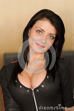 Busty image woman
