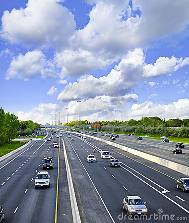Free Busy Highway Stock Image - 5461391