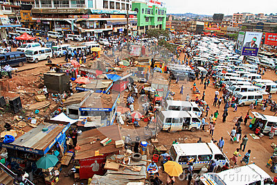 Busy Kampala Uganda Editorial Stock Image