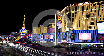 Busy Las Vegas Blvd Editorial Photography