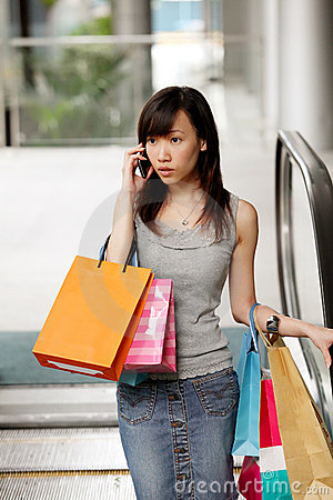 Busy Shopper
