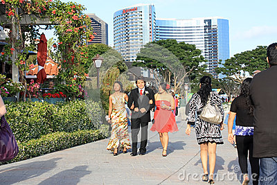Busy street in San Diego, California Editorial Stock Photo