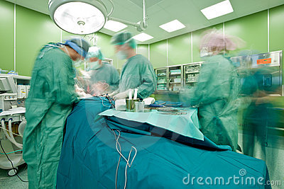 Busy surgery