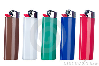 Butane lighters