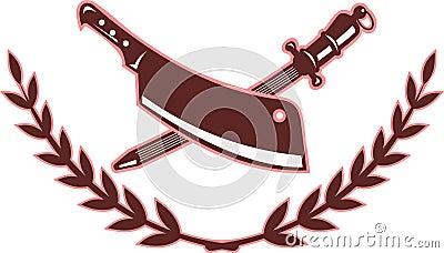 Butcher s knife blade sharpener