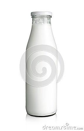 Butelki mleko