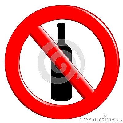 Butelkuje ingestion prohibicję