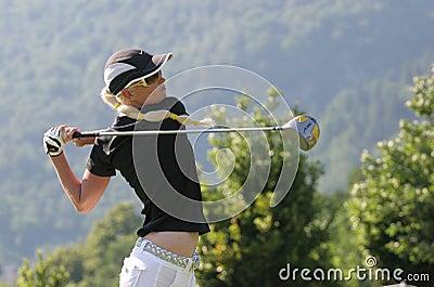 Butler, Golf Swiss Open, Losone, 2007 Editorial Stock Photo