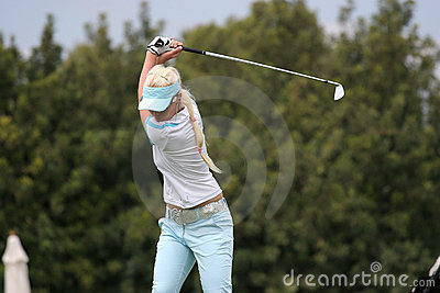 Butler, Ladies European Tour, Castelllon, 2006 Editorial Photography