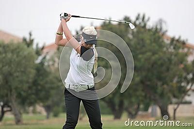 Butler, Ladies European Tour, Castelllon, 2006 Editorial Stock Photo