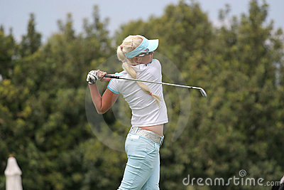 Butler, Ladies European Tour, Castelllon, 2006 Editorial Stock Image