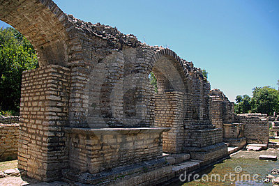 Butrint, archeological site.