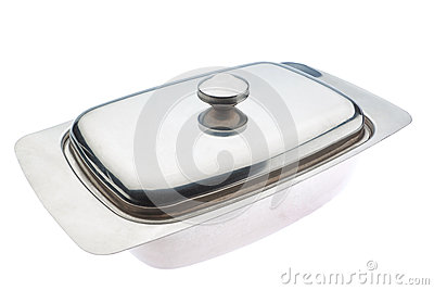 Butter dish close up. For butter.