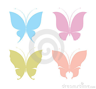 Free Butterflies Royalty Free Stock Image - 3385456