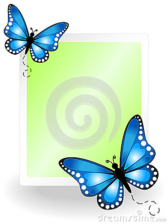 Butterfly message board