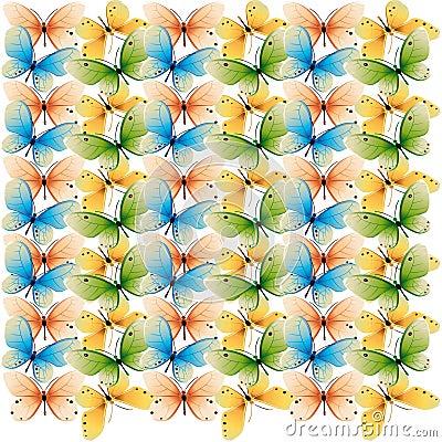 Butterflies colorstexture