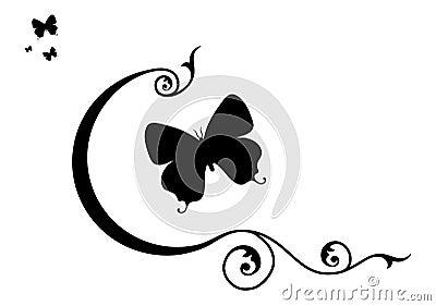 Butterflies & Decorative Elements